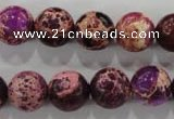 CDI834 15.5 inches 12mm round dyed imperial jasper beads wholesale