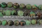 CDI852 15.5 inches 8mm round dyed imperial jasper beads wholesale