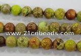 CDI861 15.5 inches 6mm round dyed imperial jasper beads wholesale