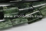 CDJ06 15.5 inches 13*18mm rectangle Canadian jade beads wholesale