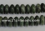 CDJ12 15.5 inches 6*12mm rondelle Canadian jade beads wholesale