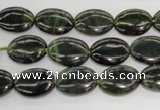 CDJ161 15.5 inches 10*14mm oval Canadian jade beads wholesale