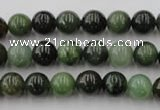 CDJ252 15.5 inches 8mm round Canadian jade beads wholesale