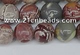 CDJ403 15.5 inches 10mm round sonoran dendritic jasper beads