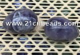 CDN332 35*50mm egg-shaped amethyst decorations wholesale