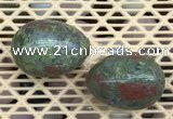 CDN355 35*50mm egg-shaped unakite decorations wholesale