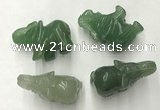 CDN387 20*40*30mm elephant green aventurine decorations wholesale