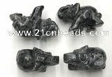 CDN393 20*40*30mm elephant labradorite decorations wholesale