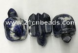 CDN438 28*45*22mm turtle sodalite decorations wholesale