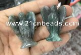 CDN475 30*40mm angel moss agate decorations wholesale