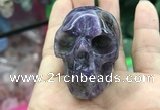 CDN552 35*50*40mm skull dogtooth amethyst decorations wholesale