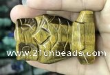 CDN579 35*50mm owl yellow tiger eye decorations wholesale