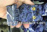 CDN588 50*80mm owl sodalite decorations wholesale