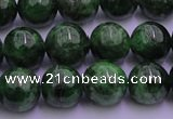 CDP51 15.5 inches 6mm round A grade diopside gemstone beads