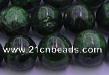 CDQ54 15.5 inches 10mm round A grade diopside gemstone beads