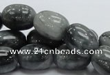 CEE10 15.5 inches 15*20mm egg-shaped eagle eye jasper beads wholesale