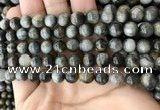 CEE525 15.5 inches 8mm round eagle eye jasper beads wholesale