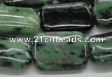 CEP18 15.5 inches 18*25mm rectangle epidote gemstone beads
