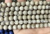 CFC332 15.5 inches 8mm round fossil coral beads wholesale