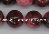 CFE10 15.5 inches 13mm round natural Brazilian fowlerite beads
