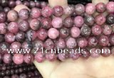 CFE22 15.5 inches 11mm round natural fowlerite beads wholesale