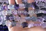 CFG1301 15.5 inches 15mm carved star fluorite gemstone beads