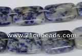 CFG320 15.5 inches 15*20mm carved rectangle sodalite beads
