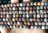 CFJ257 15.5 inches 6mm round fantasy jasper beads wholesale