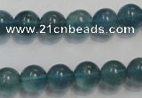 CFL1003 15.5 inches 10mm round blue fluorite beads wholesale