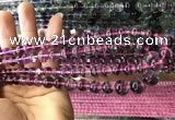 CFL1504 15.5 inches 6mm - 14mm round rainbow fluorite gemstone beads
