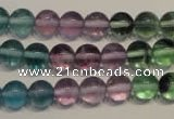 CFL552 15.5 inches 8mm round fluorite gemstone beads wholesale