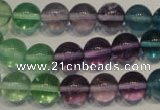CFL553 15.5 inches 10mm round fluorite gemstone beads wholesale