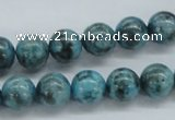 CFS104 15.5 inches 12mm round blue feldspar gemstone beads