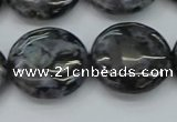 CFS315 15.5 inches 20mm flat round feldspar gemstone beads
