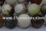 CFW16 15.5 inches 14mm round flower jade beads wholesale