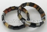 CGB3177 7.5 inches 12*15mm rectangle agate bracelets wholesale