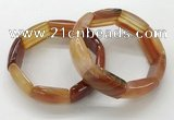 CGB3202 7.5 inches 18*29mm agate gemstone bracelets wholesale