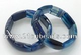 CGB3204 7.5 inches 18*29mm agate gemstone bracelets wholesale
