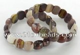 CGB3377 7.5 inches 10*15mm oval mookaite bracelets wholesale