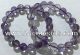 CGB4017 7.5 inches 10mm faceted round ametrine beaded bracelets