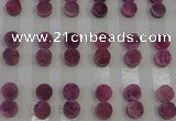 CGC97 10mm flat round druzy quartz cabochons wholesale