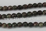 CGG01 15.5 inches 6mm faceted round ghost gemstone beads wholesale