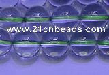 CGQ303 15.5 inches 10mm round AA grade natural green quartz beads