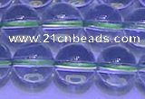 CGQ309 15.5 inches 12mm round A grade natural green quartz beads