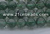 CGQ501 15.5 inches 6mm round imitation green phantom quartz beads