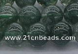 CGQ504 15.5 inches 12mm round imitation green phantom quartz beads
