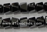 CHE252 15.5 inches 10*12mm hematite beads wholesale