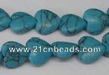 CHG31 15.5 inches 12*12mm heart turquoise beads wholesale