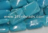 CHM03 16 inches 13*18mm rectangle blue hemimorphite beads wholesale