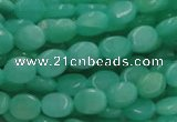 CHM07 16 inches 8*10mm oval green hemimorphite beads wholesale